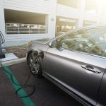 2016 Hyundai Sonata Plug-in Hybrid Electric Vehicle (PHEV), Charging Outlet